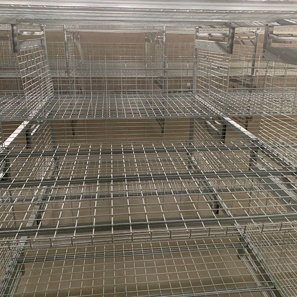 Frame type broiler cage